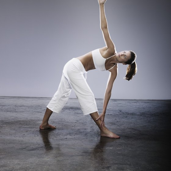 Bend and stretch to make tight muscles limber.