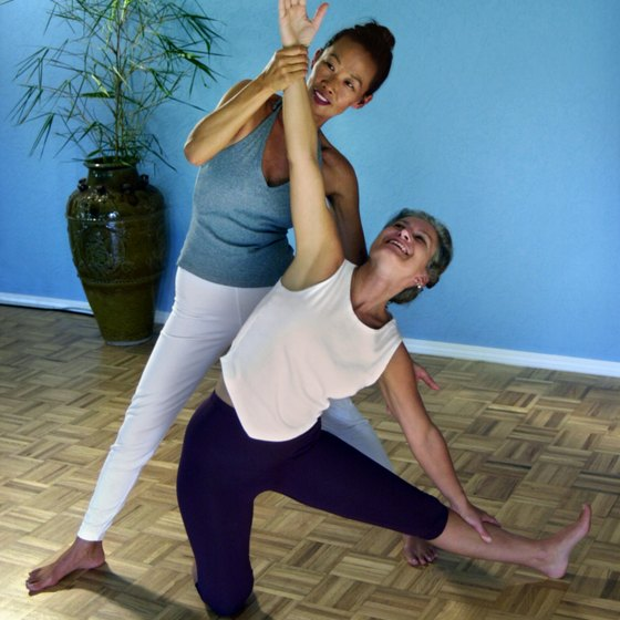 Thai yoga massage may promote an increased sense of well-being.