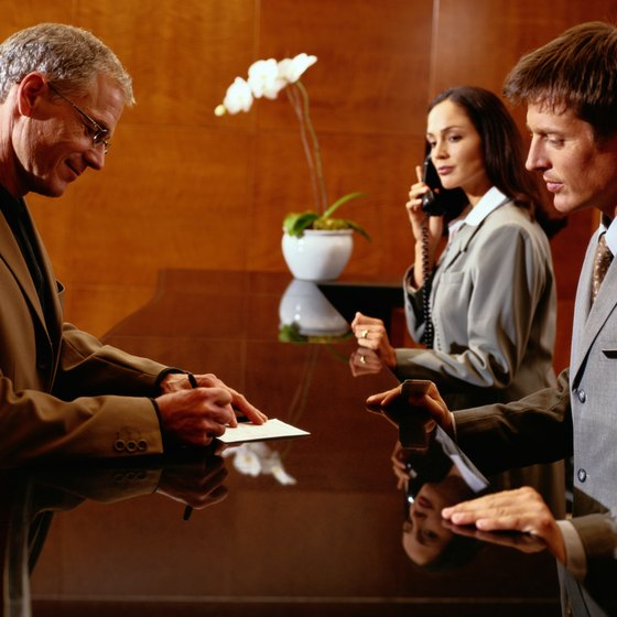 Hotel marketing involves everyone from sales agents to the front desk staff.