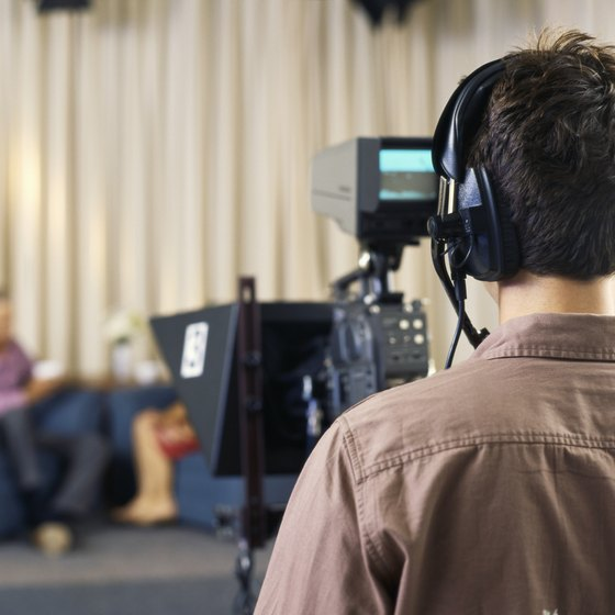 Careers behind the TV camera can be creatively rewarding.