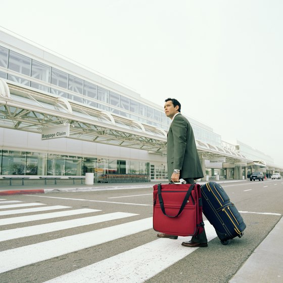 Specialty luggage can protect your suit from wrinkles while flying.