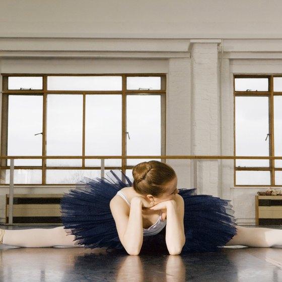 Ballet elongates muscles.