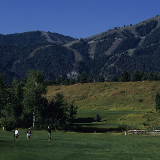 Although famous as a ski resort, Sun Valley is a year-round vacation destination.