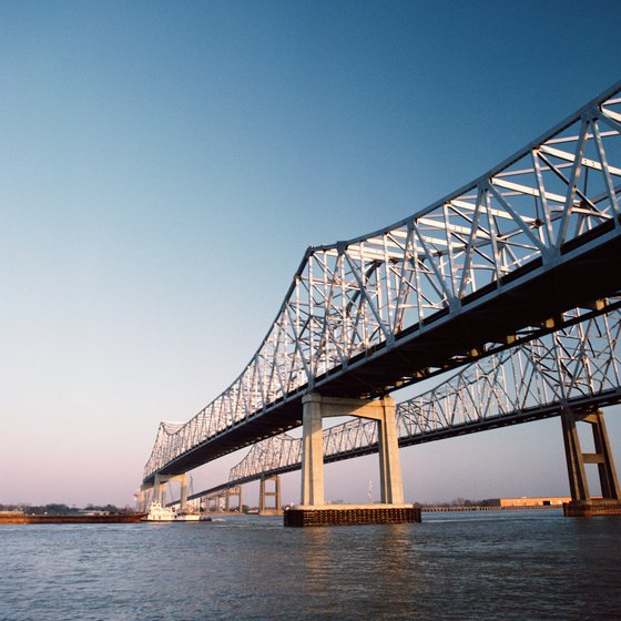 Baton Rouge's location on the banks of the Mississippi River offers opportunities to keep fit and healthy.