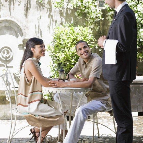 Restaurateurs segment markets by offering different benefits.