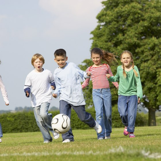 Students at every level may encounter soccer during PE classes.