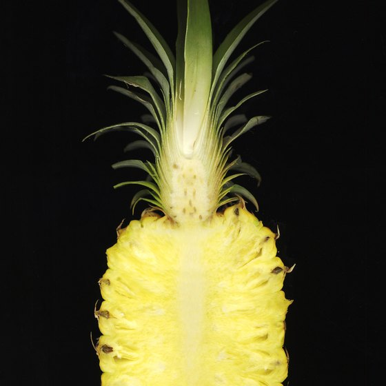 Pineapples' sugar, manganese and vitamin C nourish your muscles.