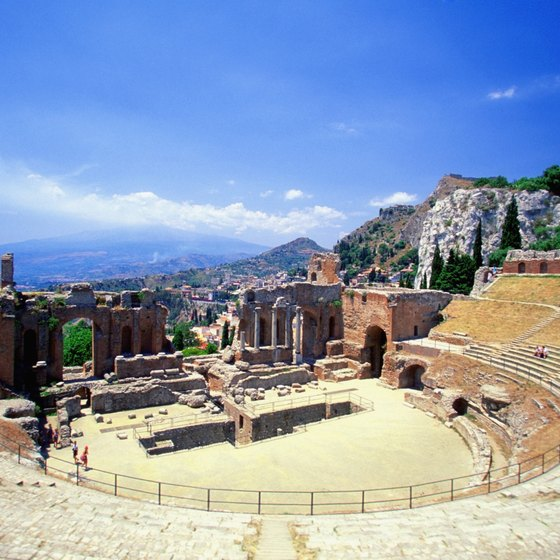 Explore the island of Sicily, full of exceptional vistas and well-preserved ruins.