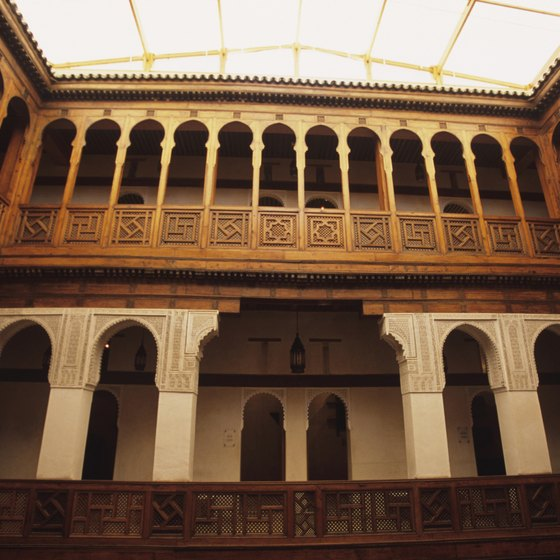 Visitors commonly fly to Fez to witness its abundant architectural beauty and history.