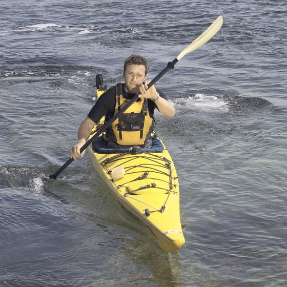 Ocean kayaks are designed to be sturdier than river kayaks.