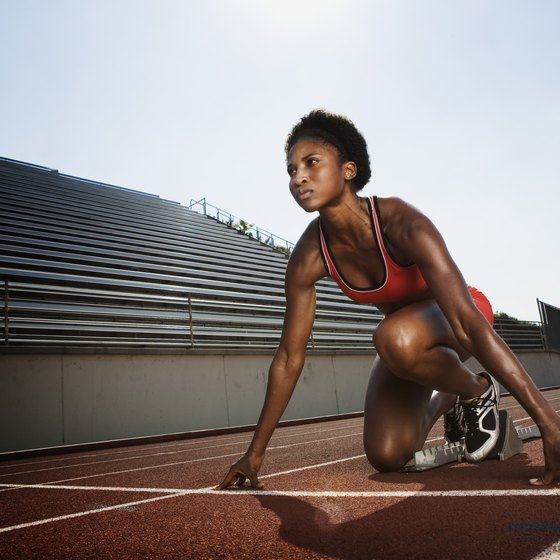 Use weight room training to improve your 400m times.