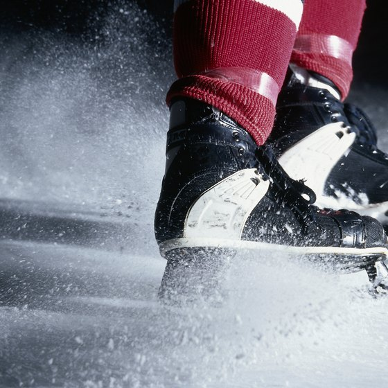 Hockey skates should be sharpened as often as the skater needs for a fast, controlled skate.