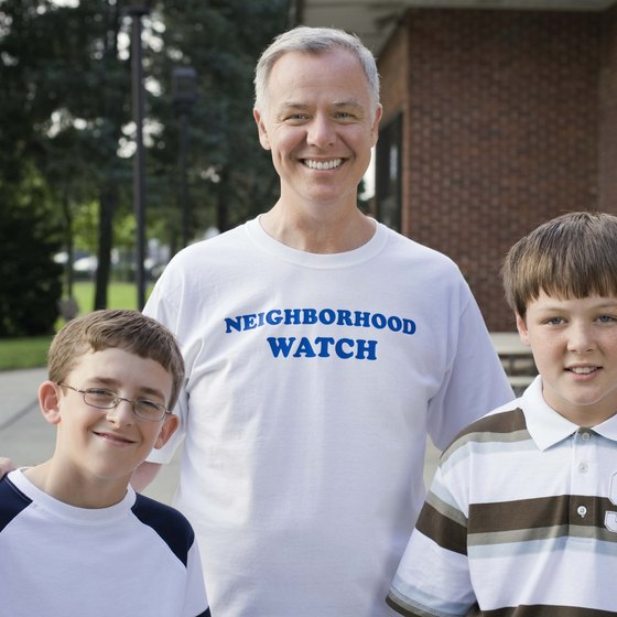 Nonprofits such as neighborhood watches set objectives based on their mission statement.
