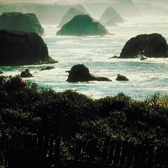 Sea stacks dot Washington's Pacific Coast.