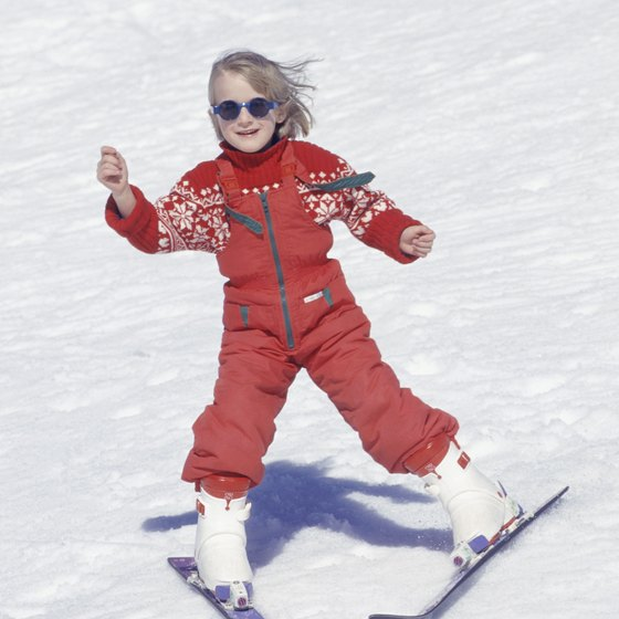 Sapphire Valley is a good place to learn how to snow ski.