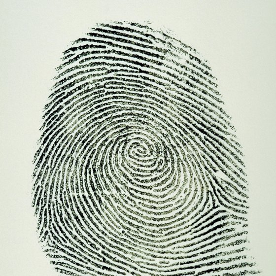 Everyone's fingerprints are unique.