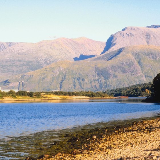 Scotland includes Great Britain's highest mountains.