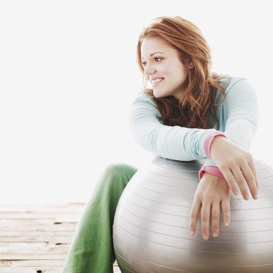 Choose a stability ball to help you isolate the hamstrings.