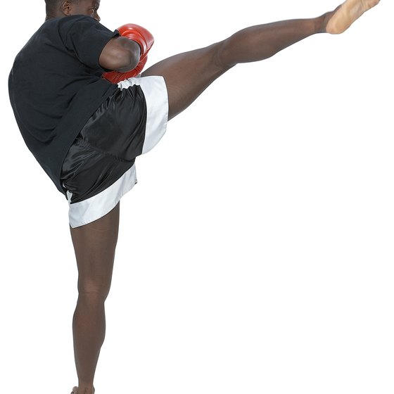 Kickboxing mastery requires strength, precision and discipline.