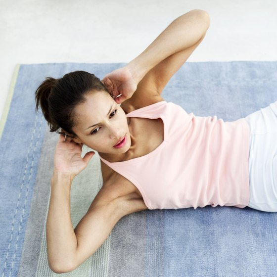"""Left and right crunches"" is another name for oblique crunches."