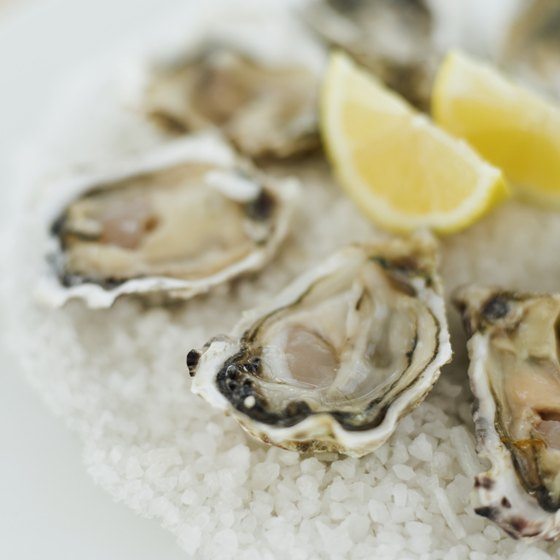 Oysters provide beneficial iron and selenium, but their high zinc content might put you at risk of an overdose.