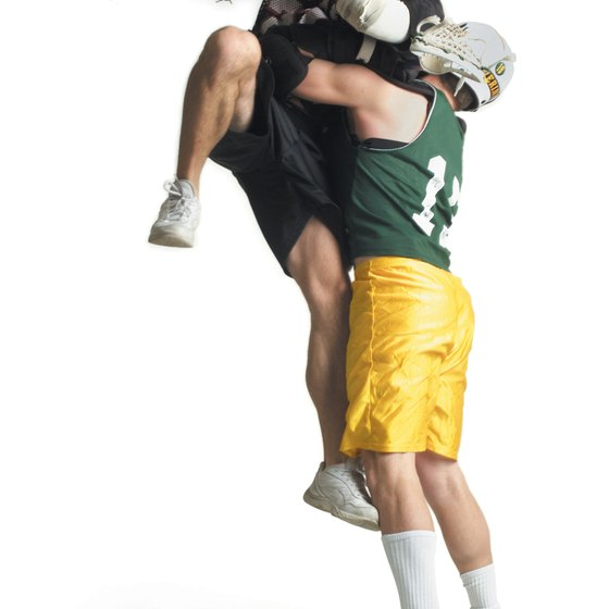 Lacrosse is an aggressive team sport that requires physical strength and stamina.