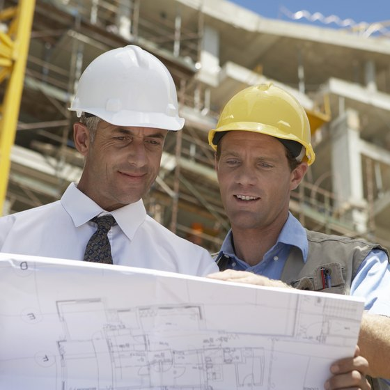 Contractors usually need surety bonds for large public projects.