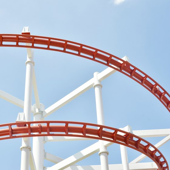 You'll find no shortage of roller coasters in Six Flags' parks.