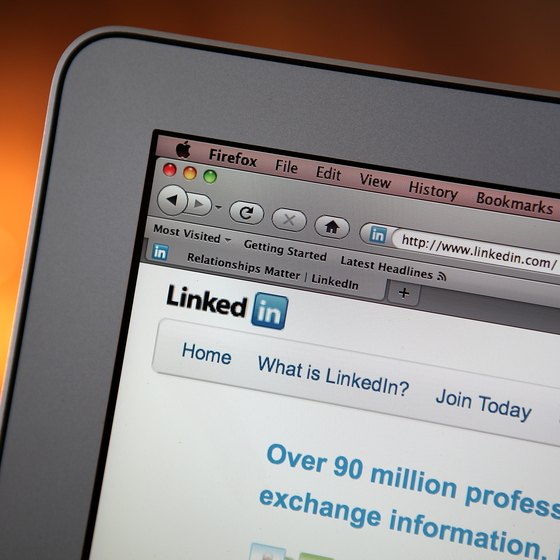 Keep your LinkedIn list up to date.