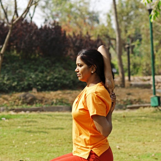 Gomukasana arms is an effective exercise to increase your elbow's range of flexion.