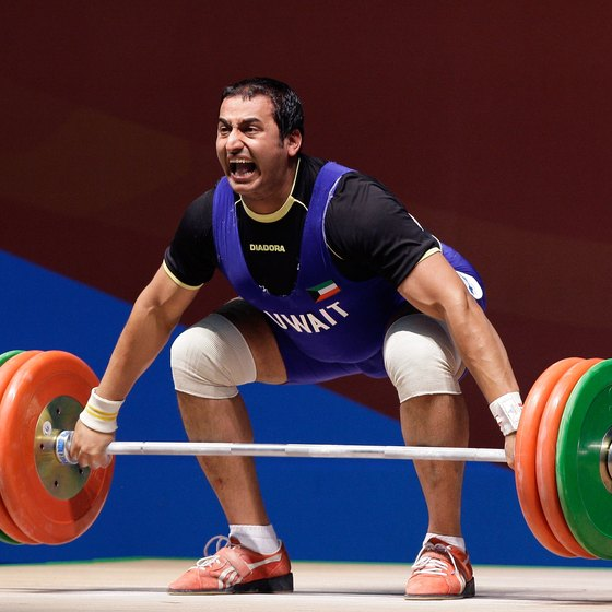 The snatch grip is used in Olympic weightlifting.