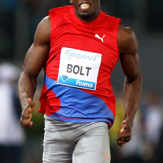 Tall sprinter Usain Bolt is a bit of an anomaly.