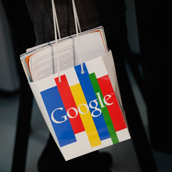 Google tracks your search history to help companies market products to you.