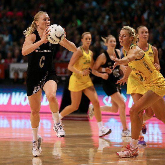 Stretching helps netball players gain flexibility and reduce injuries.