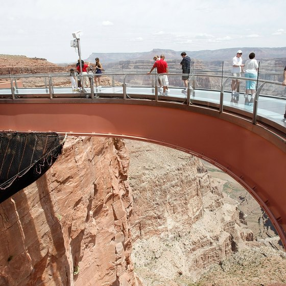 The Skywalk, on the West Rim of the Grand Canyon