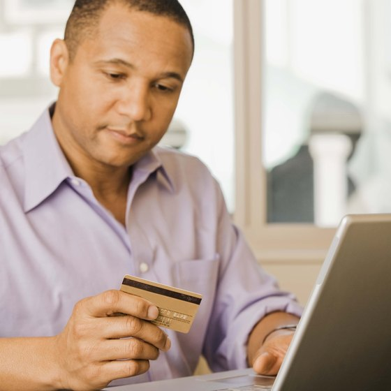 Always verify the security of a website before providing credit card information.