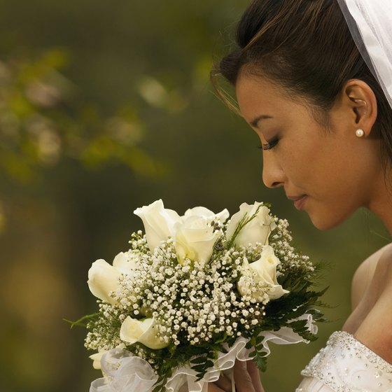 Make brides-to-be feel pampered and special when they visit your bridal show display.