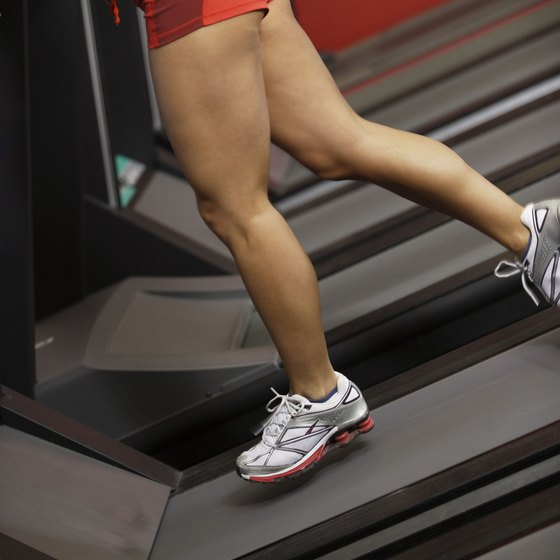 Jogging and walking are other ways to tone your glutes and hips.