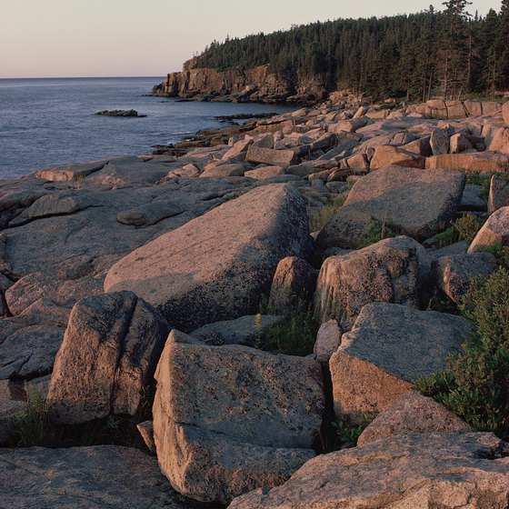 The rugged coast of Maine is on display at Acadia National Park.