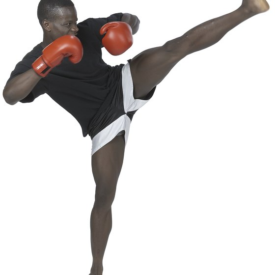 Kickboxing is an excellent way to lose weight.