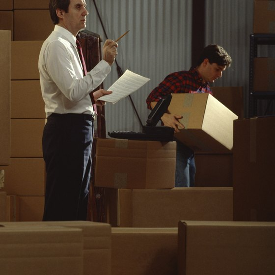 A receiving SOP includes steps to assess the quality of a delivery.