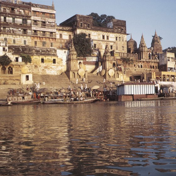 The Ganges is one of India's most holy rivers.
