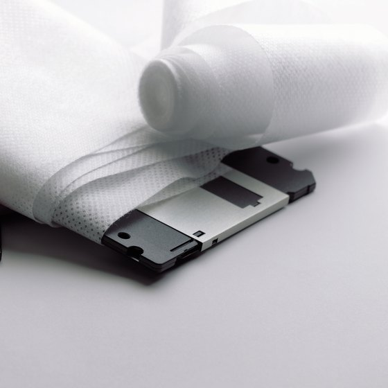 Removable storage such as floppy disks can transmit malware.