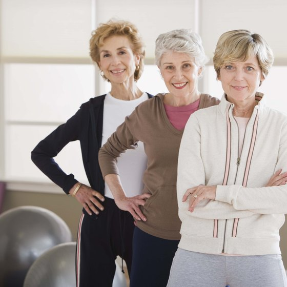Keep your muscles and bones strong into old age by lifting weights regularly.