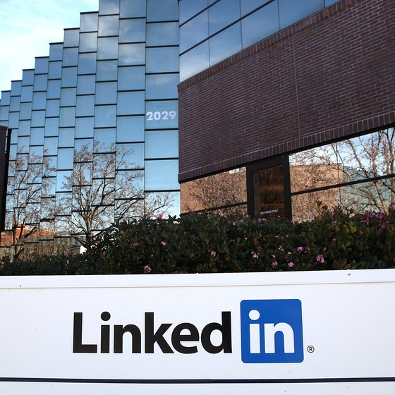 An advertising campaign on LinkedIn may offer your business an opportunity to reach its target market.