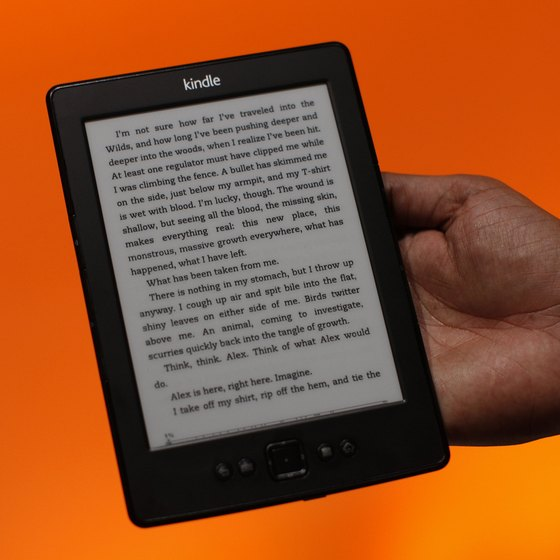Access your Kindle library from your computer by registering the device with Kindle for PC.