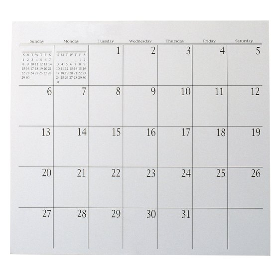 You may prepare and distribute annual payroll calendars to your employees.