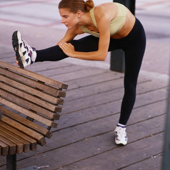 Stretch your hamstrings to prevent them from tightening.