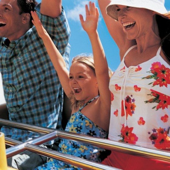 Amusement parks offer thrills and entertainment for all.