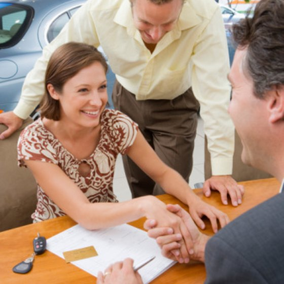 Negotiate contract terms to get a better deal on a car lease.